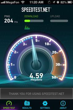Speed Test - Test your internet speed.