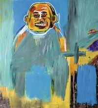 Bird as Buddha by Jean-Michel Basquiat
