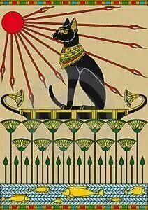 Cat #cat #arte #egipcio
