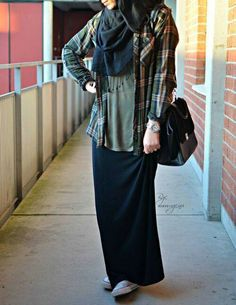 Style Hijab Remaja Kurus 58 Ideas For 2019 Casual Hijab Outfit, Hijab Chic, Casual Outfits, Hijab Fashion Summer, Modest Fashion, Fashion Outfits, Islamic Fashion, Muslim Fashion, Outfit Look