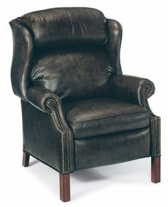 Bradington-Young Living Room Chippendale Reclining Wing Chair 4114 - Bradington Young - Hickory, NC