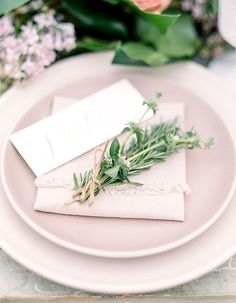 Pink and Green Garden Wedding Ideas by Savan Photography | Southern California…
