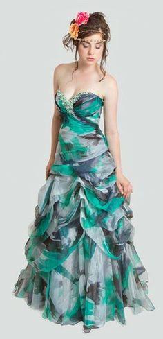 Maravillosos vestidos de fiesta para 15 años   Colección Hermione