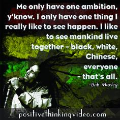 Inspiring Bob Marley Quote!