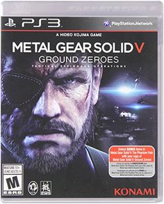 Metal Gear Solid V Ground Zeroes  PlayStation 3 Standard Edition -- Click on the image for additional details. Note:It is Affiliate Link to Amazon.