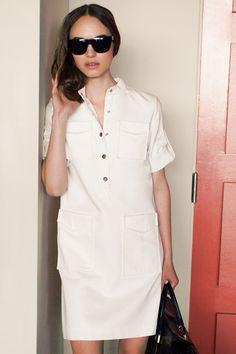 Платье-сафари для кэжуал капсулы