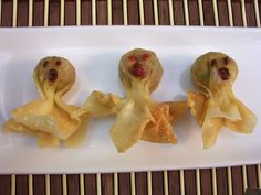 ;-): Savory Halloween Treats