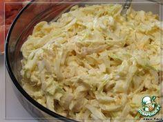 """Рецепт: Салат с кальмарами """"Угадай-ка"""""""