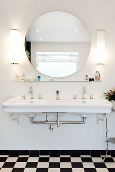 Built for Two: Inspiration for Bathrooms with Double Sinks | Apartment Therapy