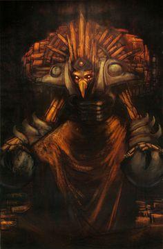 Chozo artwork from Metroid Prime                                                                                                                                                                                 Más