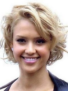 Cute Short Hairstyles For Curly Hair #cuteshorthairstyles