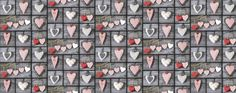 heart fabric cotton baby fabric hearts fabric by sarteBoutique