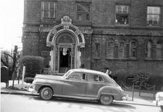 Car parked at Rhododendron Apartments, 1949 Seattle Neighborhoods, Print Box, Car Parking, Apartments, The Neighbourhood, Landscape, Digital, City, Building