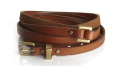 Double-Wrap Belt by Thomas Sires