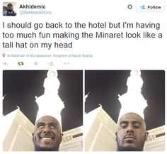 And this BRILLIANT hat. | 22 Pictures That Only Muslims Will Find Funny