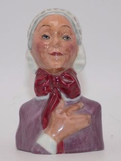 Dickens House Museum Betsy Trotwood Candle Snuffer Charles Dickens Fine Porcelai