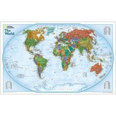World Explorer Political Map - Paper | Free Shipping | Shop Now & Save Big