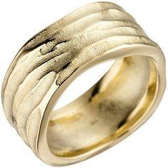 Dreambase Damen-Ring teilmattiert 14 Karat (585) Gelbgold... https://www.amazon.de/dp/B01HSS056A/?m=A37R2BYHN7XPNV