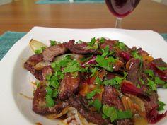 """epätrendikäs ruokablogi: Aasialaistyylinen naudanliha""""wok"""""""