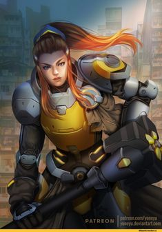 DeviantArt - Discover The Largest Online Art Gallery and Community Overwatch Video Game, Overwatch Fan Art, Brigitte Overwatch, Brigitte Lindholm, Overwatch Females, Character Art, Character Design, Character Concept, Overwatch Drawings