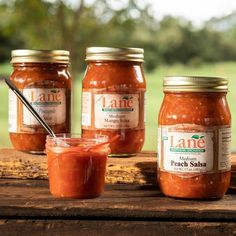 Sweet & Spicy! Buy Peach Salsa fresh from Georgia | Lane Southern Orchards Peach Salsa, Pineapple Salsa, Mango Salsa, Grilled Pork, Tortilla Chips, Sweet And Spicy, Online Gifts, Pecan, Gourmet