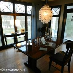 Never used dining room turns into office (easily)!