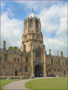 Christ Church Oxford, England  My daughter is in the Choir here :)