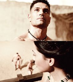 Spartacus: Blood and Sand - Crixus & Naevia