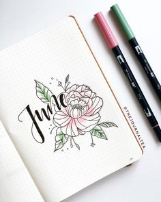 Hey everyone! Long time no see As some of you probably know I had an amazing month of May (hint: ) but I also had a lot of work and didn't find the time to do a lit od journaling. Sometimes life just happens and you can't really plan it all, I guess ‍♀️ But now I'm back with my first June page and I'm so excited to have more time for Instagram and most importantly for you all! Have a lovely weekend . . . #bulletjournaldecoration #bulletjournaldoodles