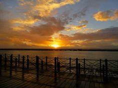 Atardecer en Huelva / Sunset over Huelva, by @huelvaocioypla1