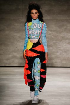 DI$COUNT UNIVER$E #discount #universe  VFiles Fall 2015 Ready-to-Wear - Collection - Gallery - Style.com