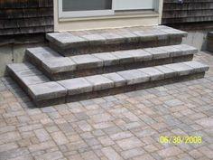 Google Image Result For  Http://decorativelandscapesinc.com/i/Stairs_Doorway1. Brick StepsPatio ...
