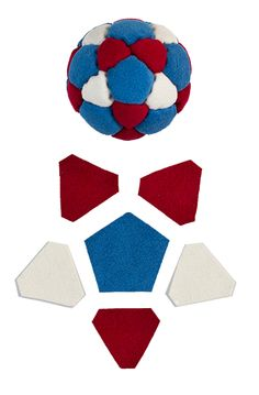 Anatomy of a footbag by Hanna Mickiewicz from http://www.haniabag.com/footbag-store/