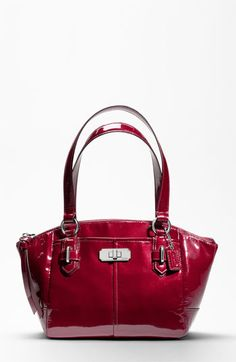 COACH CHELSEA PATENT SMALL BAG
