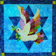 Dove on a Star of David