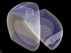 Glass Building. Concept Model.