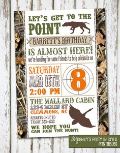 Printable hunting surprise birthday invitation camocamouflage hunting theme birthday invitation by meghilys on etsy 800 filmwisefo