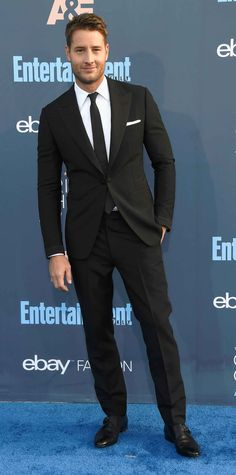 All the Glam Red Carpet Looks from the Critics' Choice Awards - Critics' Choice Awards - Justin Hartley from InStyle.com