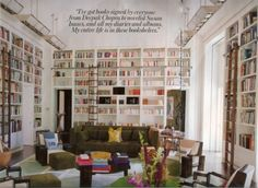 Having an entire room for home library would mean I was in my dream home. ONE DAY