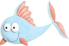 Peces y Vida en el Mar párrafo descargar - decorar - Aprender entretener-