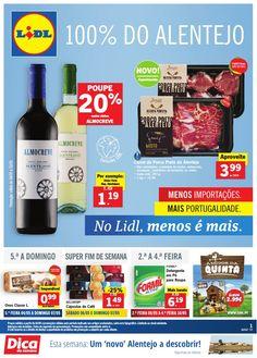 Folheto Lidl Portugal Promoções da Semana em vigor a partir 04 Maio. Seleção 100% #Alentejo. #Lidl