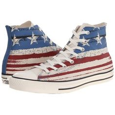 Converse Chuck Taylor All Star Flag Print Hi Lace up casual Shoes