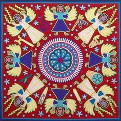 Los angeles guardianes  www.realdecatorce.net/artesania.htm#   Artesano: Antonio Carrillo de la Cruz