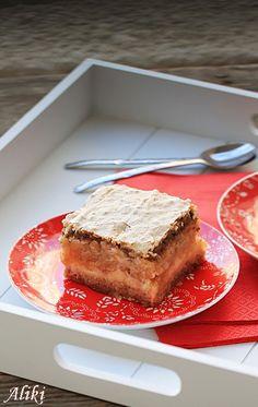 Sastojci prvi donji sloj 200 g. maslaca ili margarina 130 g. šećera 4 žumanca 200 g. brašna 150 g. mlevenih oraha pola kesice pra...