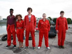 Misfits: just got into that show on Hulu, watched first season in a day!