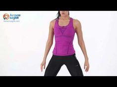 Kadınlar için kalça ve bacakları çalıştıracak egzersiz programı - YouTube Basic Tank Top, Athletic Tank Tops, Youtube, Workout, Sports, Exercises, Women, Yoga, Fashion