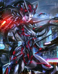 Artist: Unknown - Title: Unknown - Card: Rinma, Shadow Sniper (Galvanized)