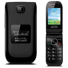 UNLOCKED Alcatel OneTouch A392A Quad Band Flip Cell Phone, Camera, Bluetooth, NEW, BULK PACKAGED, 2G GSM 850/900/1800/1900MHZ, 3G HSPA 850/1900MHZ