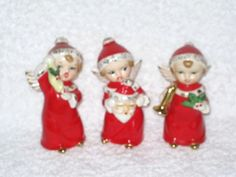 Vintage Christmas Holiday Angel Hard to by BrilbunnySelections