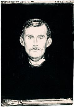 Edvard Munch · Autoritratto con braccio di scheletro · 1895 · The Munch Museum · Oslo